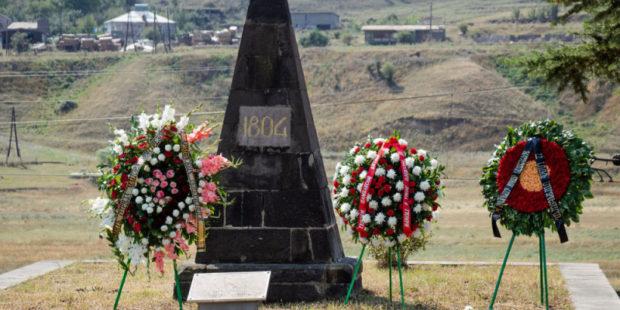 Память погибших в 1804 году русских воинов отряда майора Монтрезора почтили в Армении