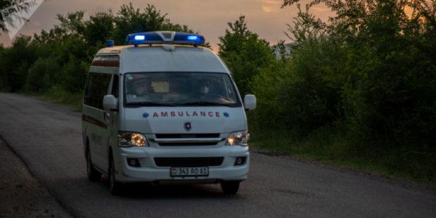 Пассажирский автобус попал в аварию в Капане: 7 человек госпитализированы