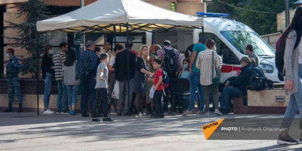 Точные данные по коронавирусу в Армении на 2 августа