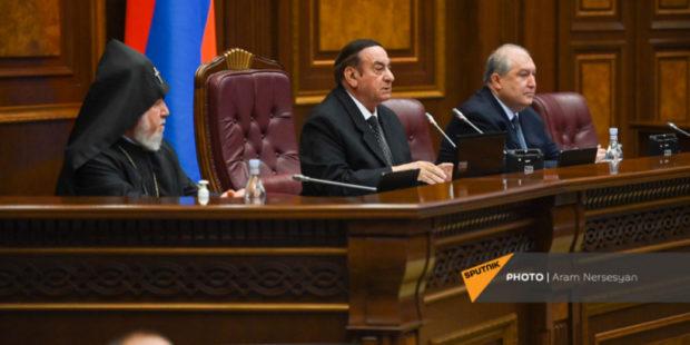 В Армении стартовала первая сессия нового парламента Армении