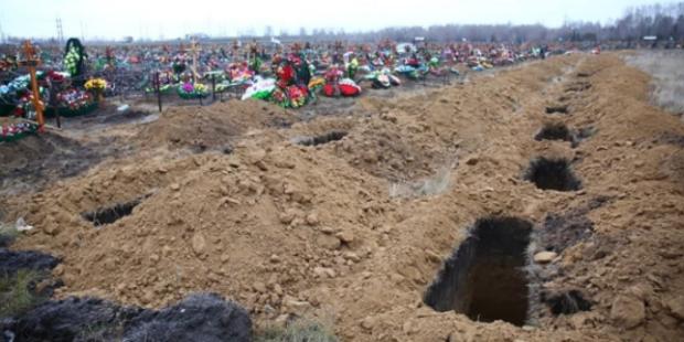 1578 «дополнительных» могил вырыли в Ивановской области из-за коронавируса