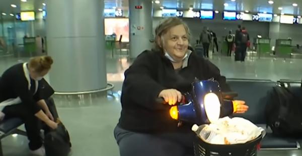 В аэропорту Киева поселился американец, которого там ограбили