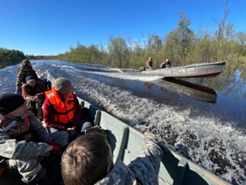 В Красноярском крае пропала экспедиция из девяти человек