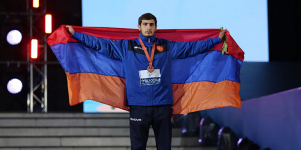 Еще четыре медали в копилку сборной Армении на играх СНГ добавили борцы и стрелок