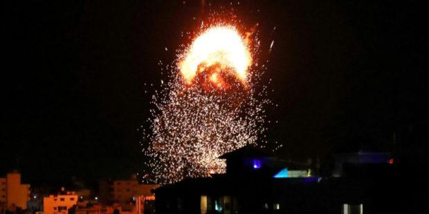 ХАМАС обстрелял Израиль, ответные удары не заставили себя ждать