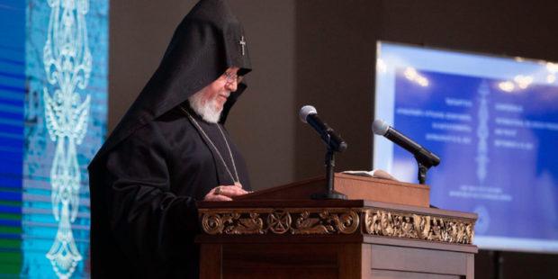 Католикос выразил благодарность России за спасение культурных ценностей в Карабахе