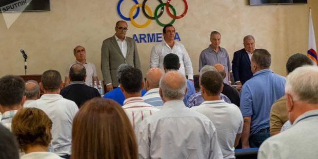 На конференции НОК Армении председателем комитета избран Гагик Царукян