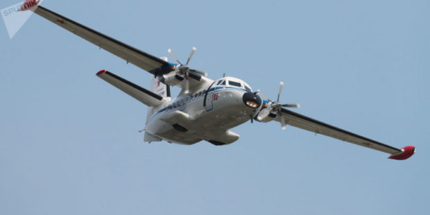 Пассажирский самолет совершил жесткую посадку в Иркутской области