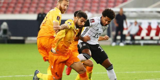 Сборная Армении продула в матче с Германией