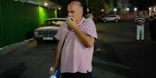 """В """"Физгородке"""" в Ереване начали сухую голодовку - против застройщика возбудили дело"""