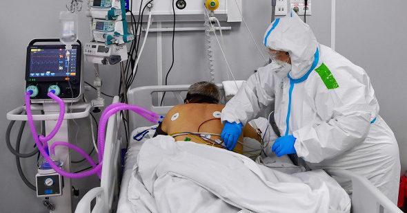 В Ивановской области произошёл рост заболевших коронавирусом на ИВЛ