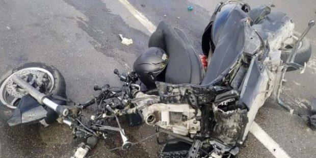 В Крыму мотоциклист погиб в ДТП с автобусом