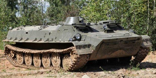 На ростовской таможне задержаны бронетранспортеры из Болгарии