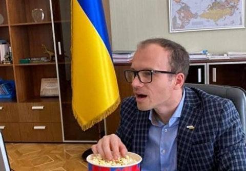 Google «уволил» министра юстиции Украины Малюську