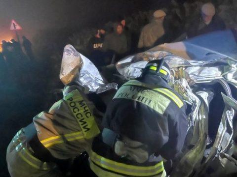 В Дагестане в ДТП с пассажирским автобусом погибли 4 человека