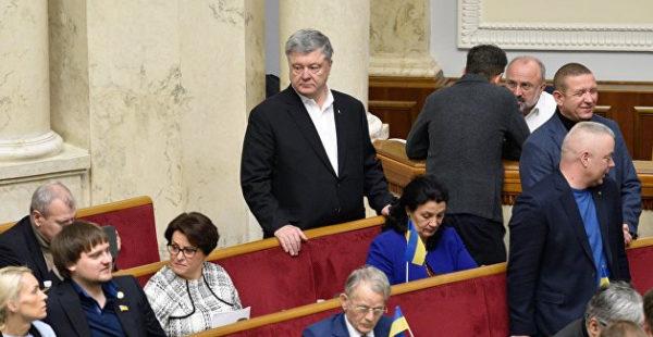 Оппозиция готовила совместный демарш в Раде, но все испортил Порошенко