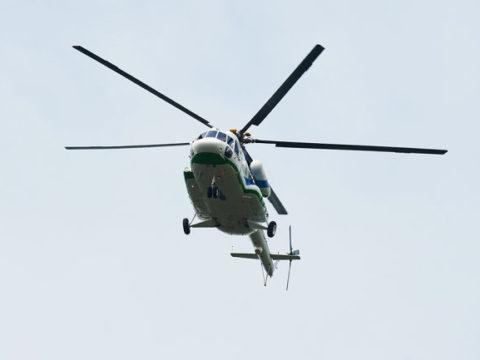 Вертолет Ми-8 совершил вынужденную посадку на Таймыре
