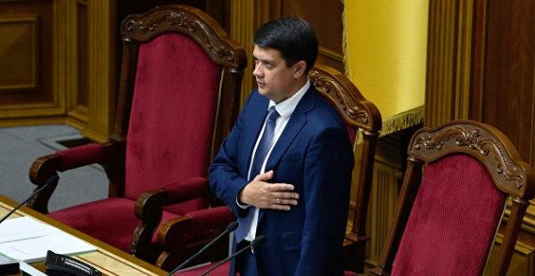 Фракция Зеленского собрала достаточно подписей за отставку спикера Рады - депутат