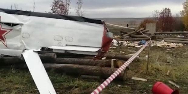 Появилось последнее видео погибших в Татарстане парашютистов