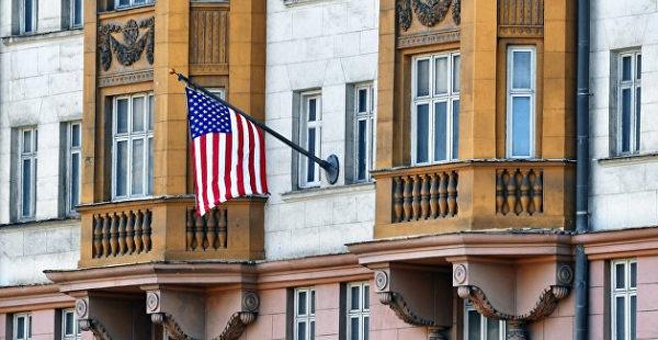 В Москве полиция заподозрила сотрудников посольства США в краже рюкзака