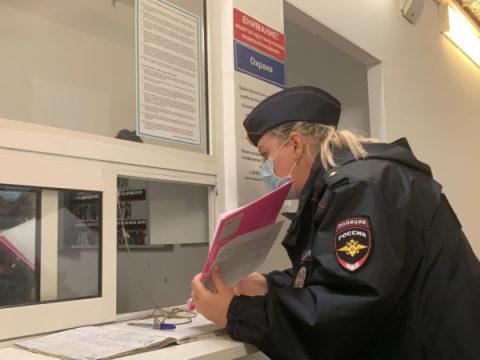 Ивановская полиция массово отправилась в торговые центры ловить покупателей без масок