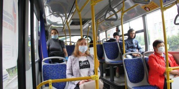 В Иванове на коронавирус проверили около 1000 пассажиров общественного транспорта