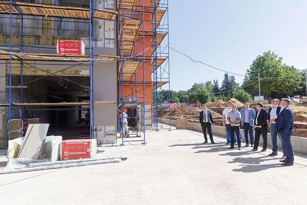 В регионе продолжается строительство крупных инфраструктурных объектов
