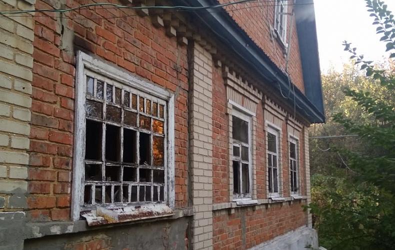 Пожар унес жизнь мужчины в Донском