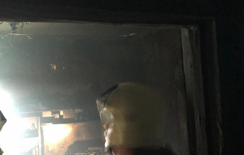 Пожар в городе Советске унес жизнь 39-летнего мужчины