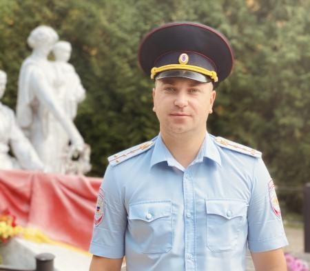 Полицейский из Новомосковска представит Тульскую область на конкурсе «Народный участковый»