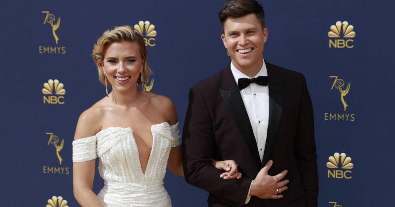 Скарлетт Йоханссон вышла замуж за телеведущего Колина Жоста