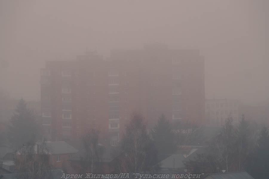Метеопредупреждение: Тульскую область накроет туман