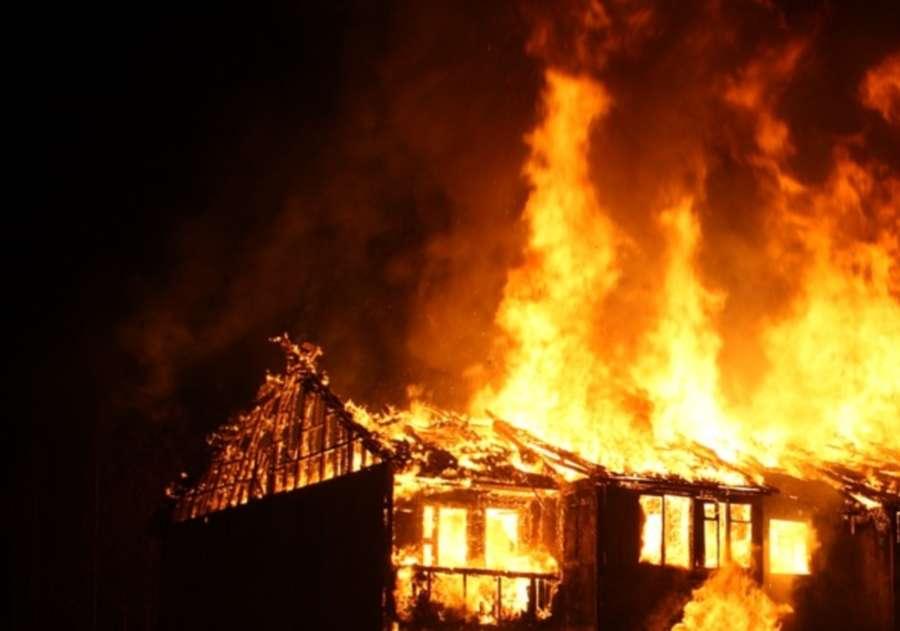 Пожар в Щекино: пострадавших нет