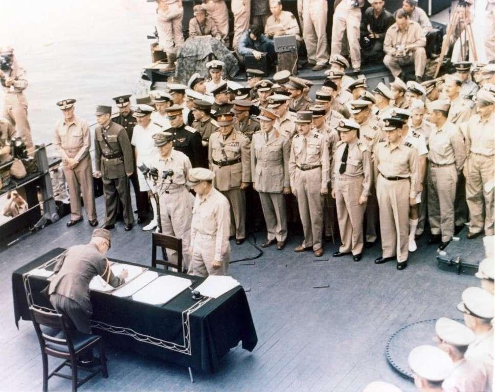 75 лет назад подписан акт о безоговорочной капитуляции Японии