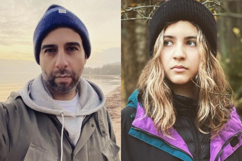 Иван Ургант поделился новыми фотографиями жены и дочерей