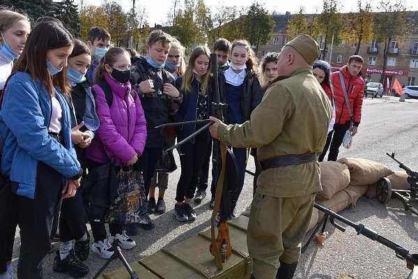 В Щекино прошел «Живой урок истории»
