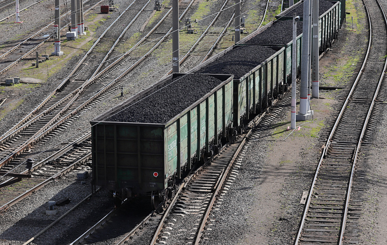 Вагоны грузового поезда сошли с рельс ночью в Тульской области