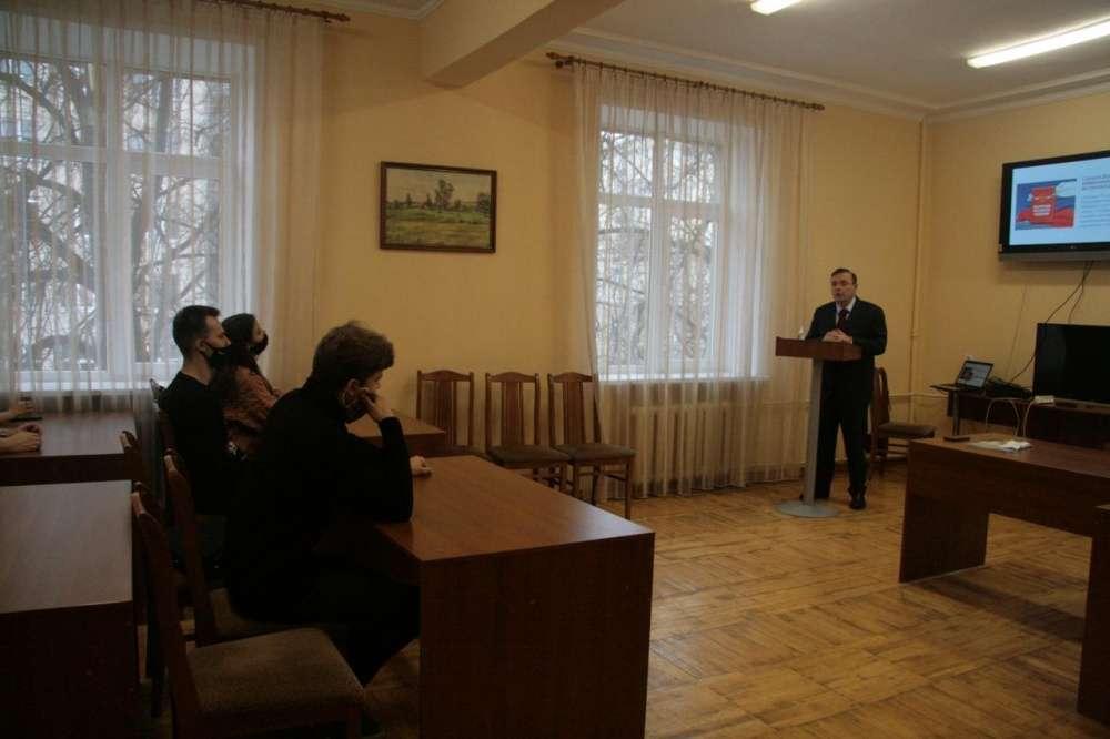 Павел Веселов встретился со студентами Тульского госуниверситета