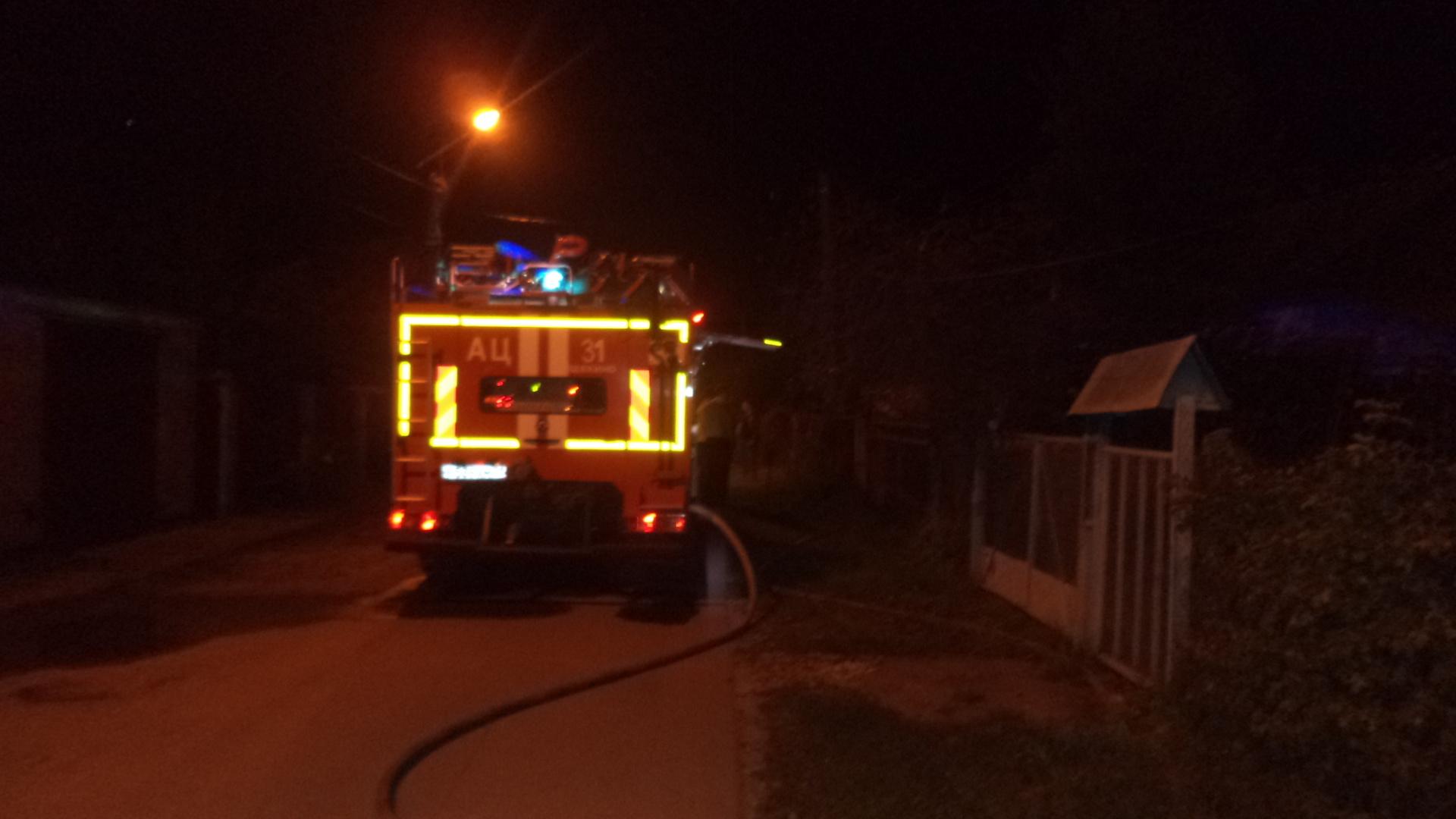 В Щекинском районе на пожаре погиб мужчина
