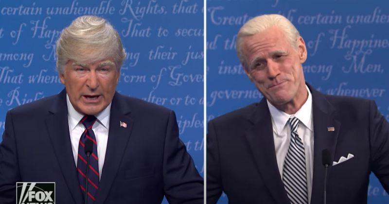 Джим Керри дебютировал на Saturday Night Live в образе Джо Байдена