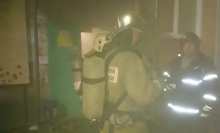 Более 30 человек было спасено при пожаре в Туле