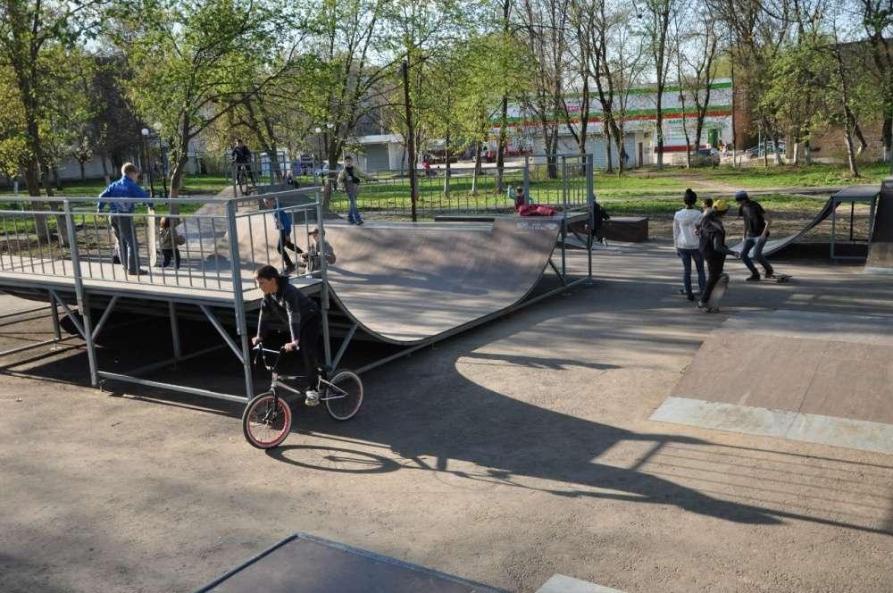 Скейт-площадка в Сквере космонавтов подлежит сносу