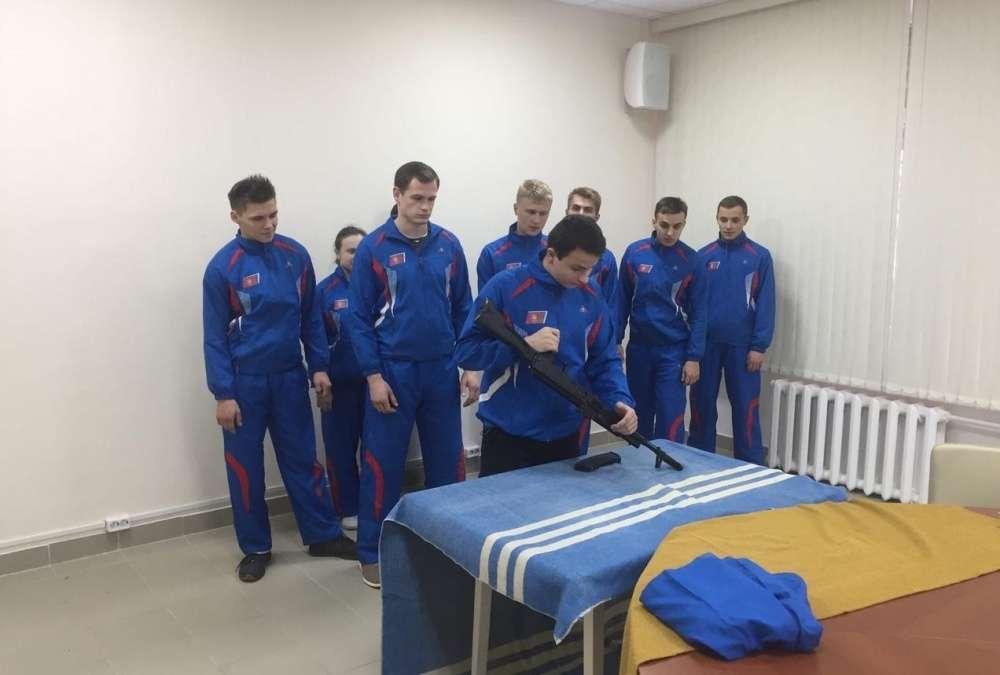 Щекинские студенты - победители областной военно-спортивной игры