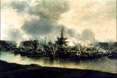 Русский флот одержал победу над шведами у мыса Гангут