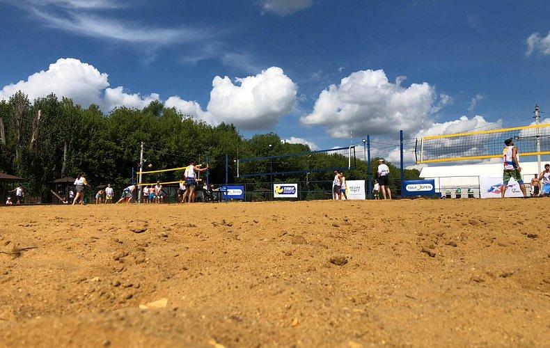 IX открытый турнир по пляжному волейболу TULA OPEN стартовал в Донском