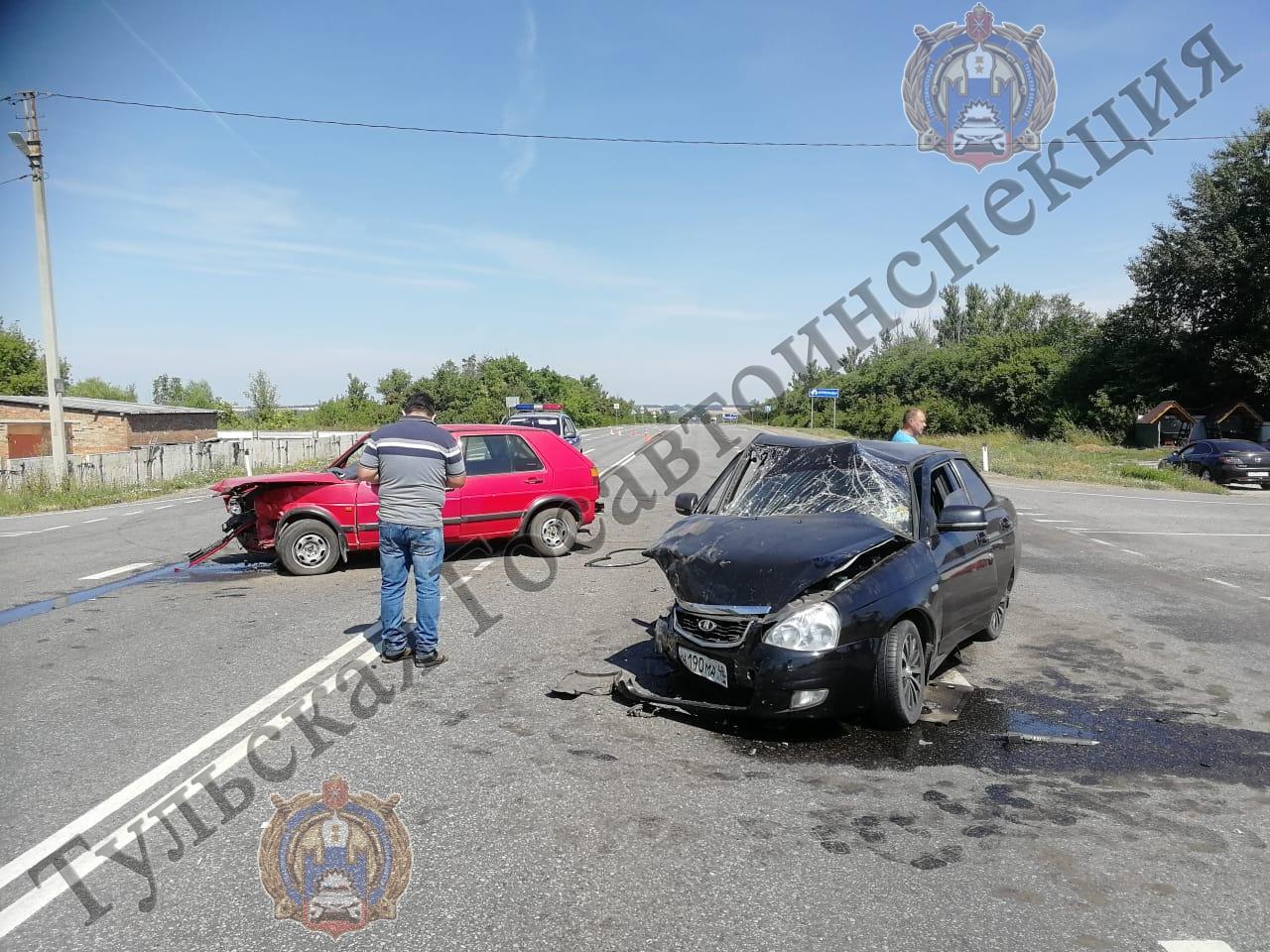 Пьяный водитель иномарки устроил ДТП в Ефремовском районе