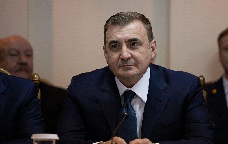 Алексей Дюмин поздравил туляков с Днем физкультурника