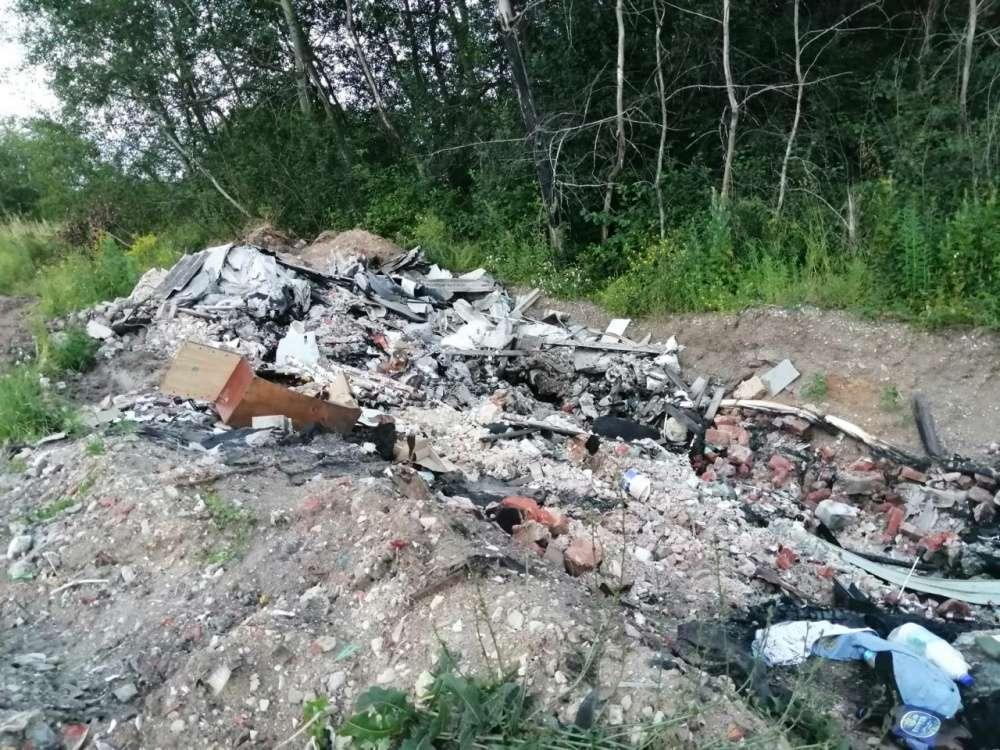 Администрация МО Ломинцевское оштрафована за неубранную свалку