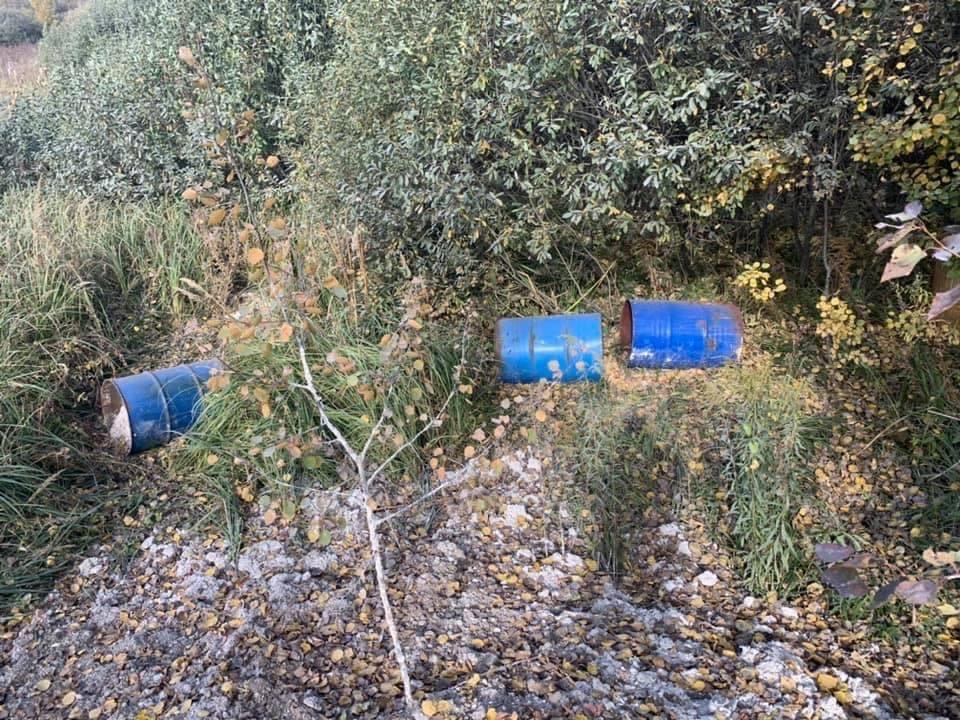 Под Тулой обнаружена несанкционированная свалка опасных химических отходов
