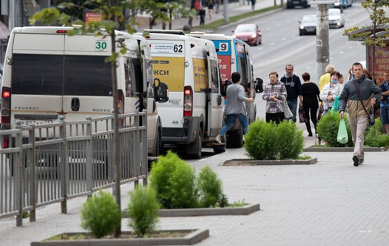 Тульские маршрутки до конца октября оборудуют терминалами для безналичной оплаты